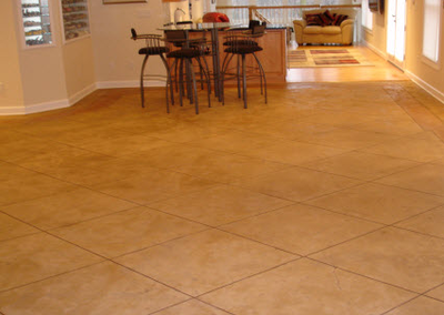 Lansing stamped concrete residential interior stamped concrete floors.